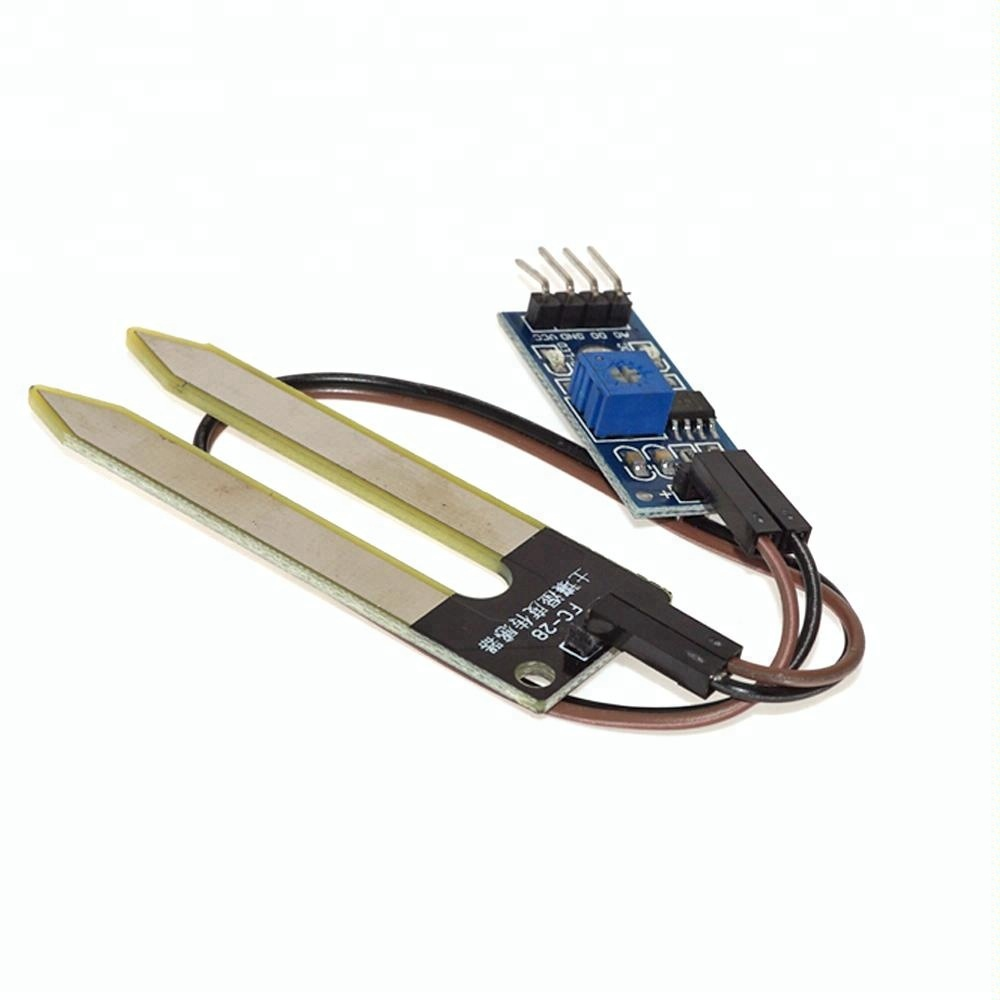 LM393 Chip Soil sensor Hygrometer Temperature Humidity sensor detection module Soil moisture sensor