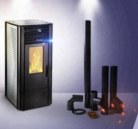 freestanding 10 KW wood pellet stove for sale