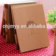 Wholesale Cheap Bulk Mini Plain kraft Cover Blank Paper Notebook