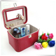 PU leather cosmetic display case for perfume bottle for girls