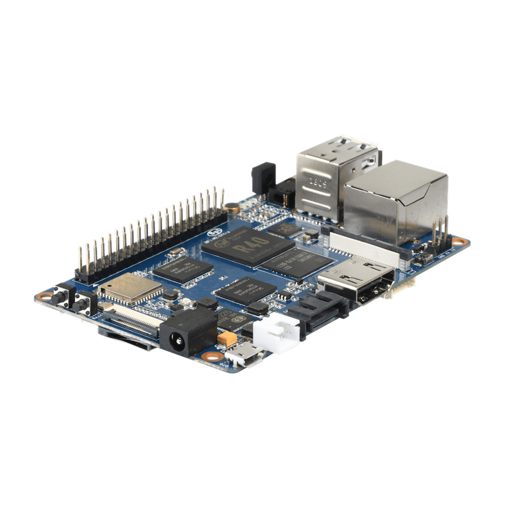 The Newest Allwinner R40 Quad-Core Banana Pi BPI-M2 Ultra