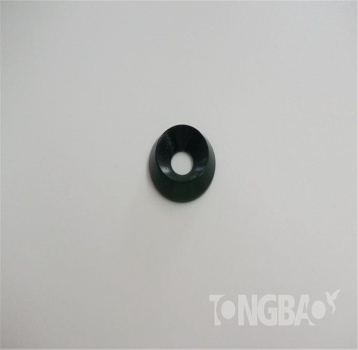10 Pieces Countersunk Head Washer M3 M4 M5 Anode Countersunk Washer Washer Aluminum Alloy Colorful
