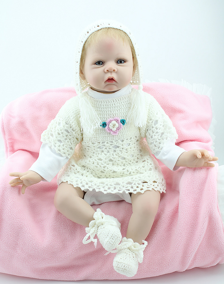 Customized 20 Inch Baby Alive Doll Handmade Silicone