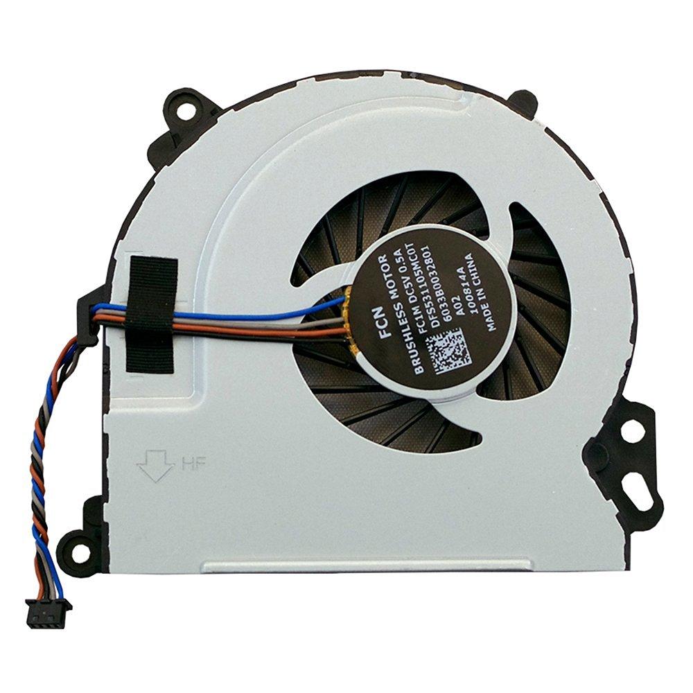 Bestcompu ®New HP Envy 15 15T 17 15-J000 15-J100 15-Q000 15-Q100 M6-N000 M6-N100 M7-J000 M7-J100 Series CPU Cooling Fan DFS531105MC0T 6033B0032801 720235-001 722437-001 DFS531105MC0T FC1M