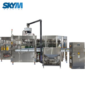 mineral drinking water bottle filling beverage making machine production line