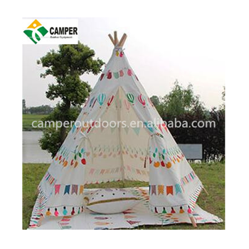 Indoor Childrenu0027s Play Teepee Tents for Sale Large Canvas Wigwam Tents for Kids  sc 1 st  Alibaba & Indoor Childrenu0027s Play Teepee Tents For SaleLarge Canvas Wigwam ...