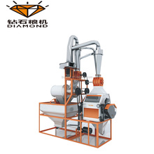 Mini lentils casava flour mill grinding production machine plant
