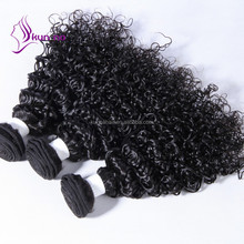 wholesale bulk hair extensions jerry curl natural color peruvian hair bundles 100g/pack hair express