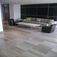 Grey Wooden Grain Marble with honed surface