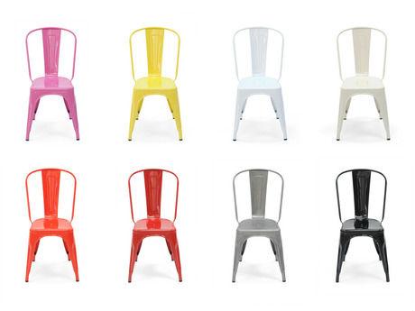 Chaise En Couleur. Great Chaise Design Moka En Bois Finition