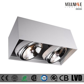 2 heads tilt ar111 anti glare recessed ceiling light 2 heads ar11 2 heads tilt ar111 anti glare recessed ceiling light 2 heads ar11 trimless halogen aloadofball Image collections
