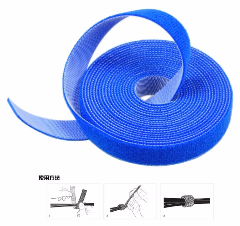 Coustomized Self Adhesive Double Side Hook And Loop