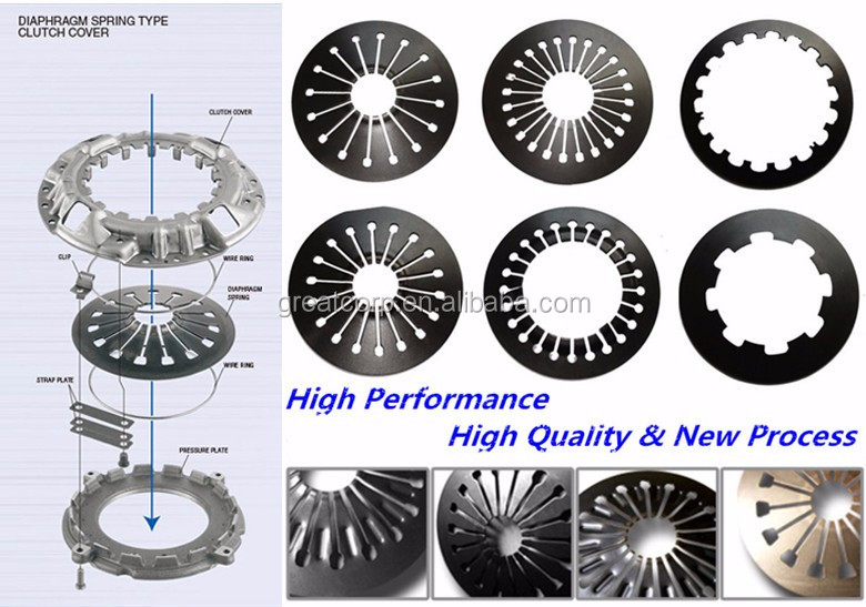 Clutch spare parts clutch and pressure plate assembly for japanese car