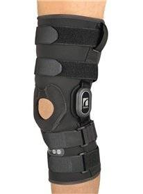 63582069ff Get Quotations · Össur Rebound ROM Knee Brace Rebound ROM Knee Brace, Long  Wrap, Medium - Hinged