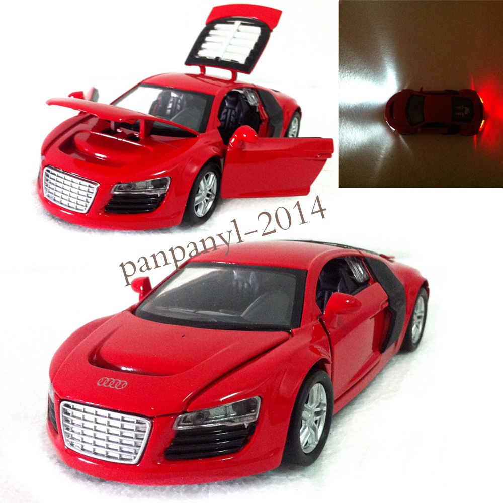 Buy For Red Audi R8 1:32 Mini Toy Vehicles Alloy Diecast Model Kids Toy Car  Gift Pull Back Power With Light Music Door Can Open Car In Cheap Price On  ...