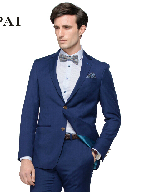 8292a50b45 Get Quotations · Cultivate one s morality men business suits to work in  spring and summer gentleman conventional new men s