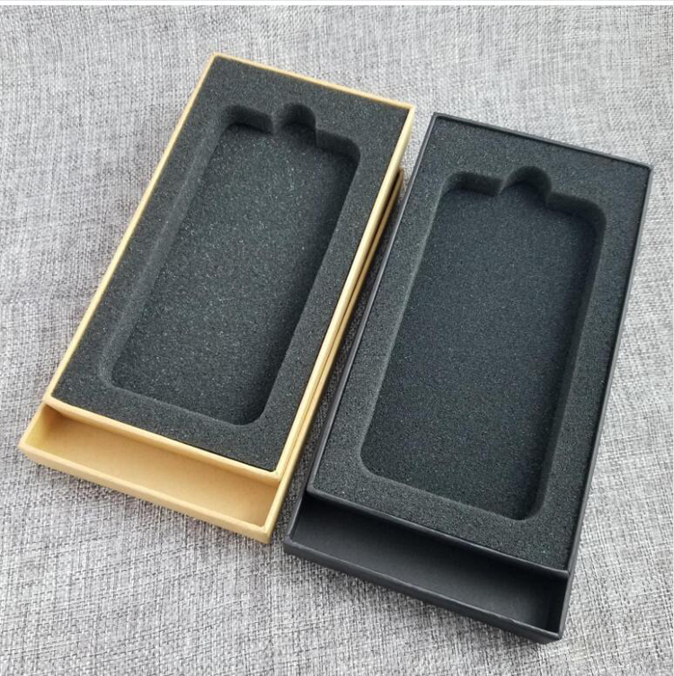 Quality Custom Design Mobile Phone Packaging Box, Cell Phone Box with Foam Insert