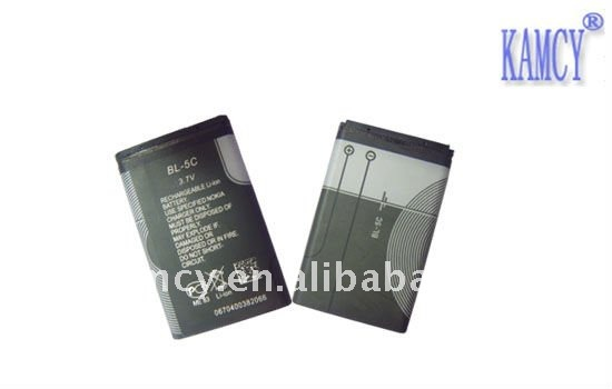 mobile phone battery BL-5C lithium battery for nokia