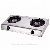 Factory wholesale 2 burner gas stove for home use DGC-205BS