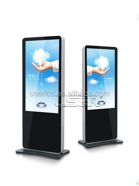 "42 "" Floor-standing advertising player/totem display/digital signage android 4.2"