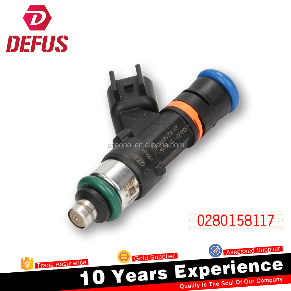 550cc 630cc 850cc 1000cc car accessories high impedance fuel injector nozzle for sale 0280158117
