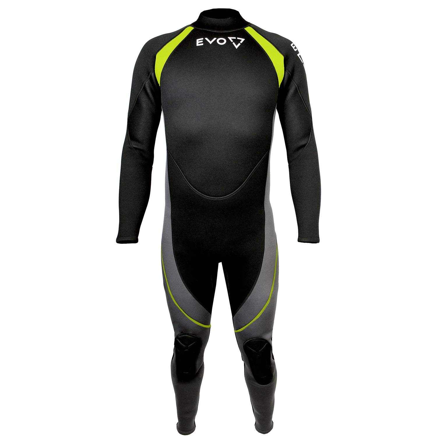 Get Quotations · EVO 3mm Super-stretch Full Scuba Wetsuit (men s) L Yellow 92811e583