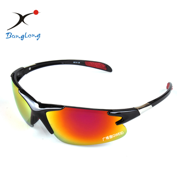 wholesale 5 lenses tr90 frame sports sunglasses, muti-color uv400 racing bicycle cycling goggles