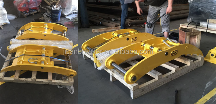 for 12-16 ton excavator hydraulic thumb