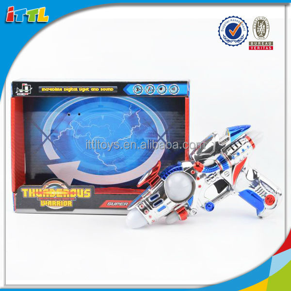 Hot selling plastic airsoft toy gun kids funny electric space gun toy for sale