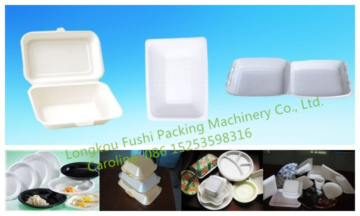 2017 New CE Approved High Quality EPS/PS/PSP disposable foam plate/container/box making machine price