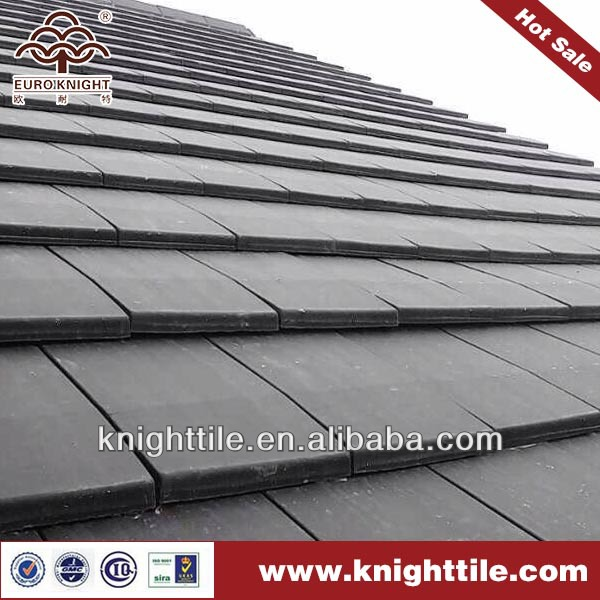 slate looking flat interlocking clay roof tiles