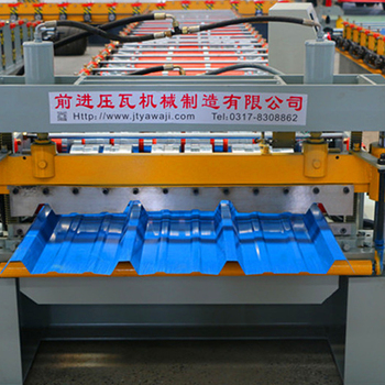 Corrugated roof coil machine for roofing sheet