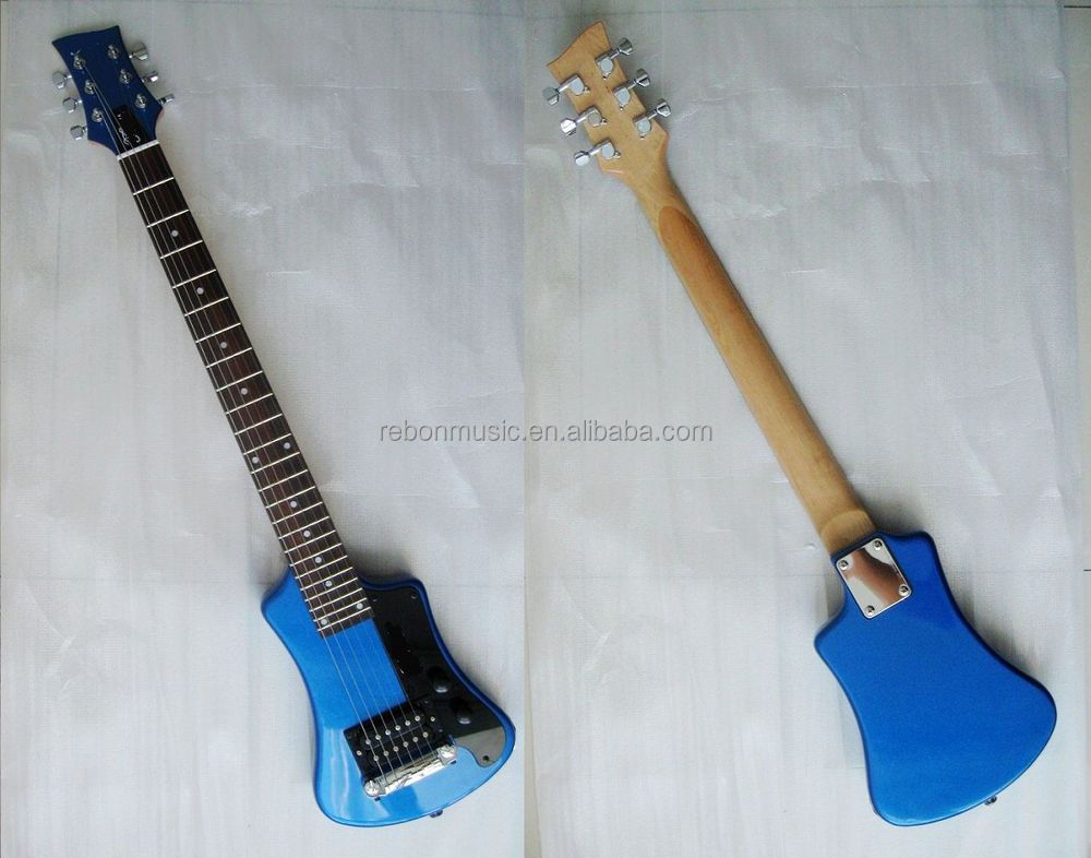 weifang rebon travel electric guitar with small body buy electric guitar cheap electric guitar. Black Bedroom Furniture Sets. Home Design Ideas