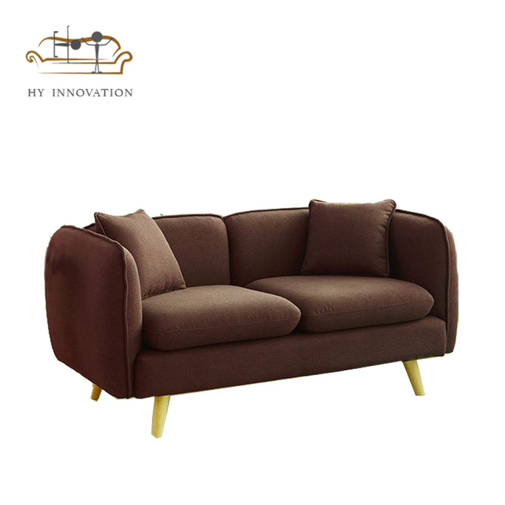 European style loveseat <strong>sofa</strong> in living room couch simple furniture to decorate your new house