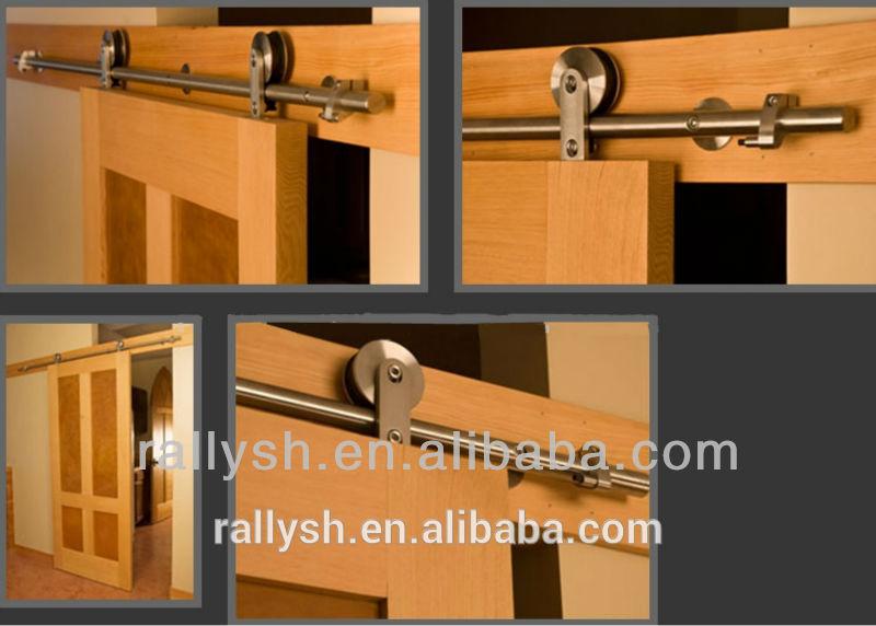 madera herrajes para puertas correderas de acero