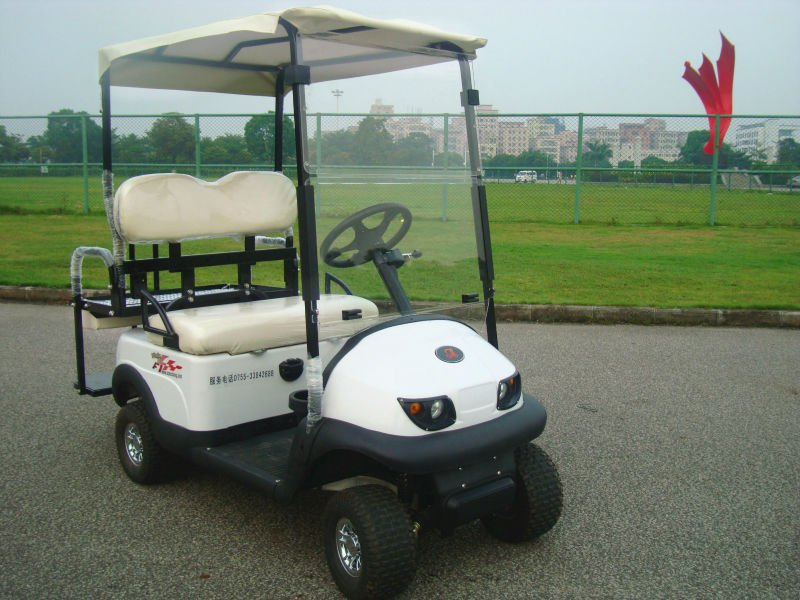 four seats electric utility vehicle,road legal drive golf car