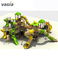 2019 Kids various color unique outdoor playsets children slide equipment
