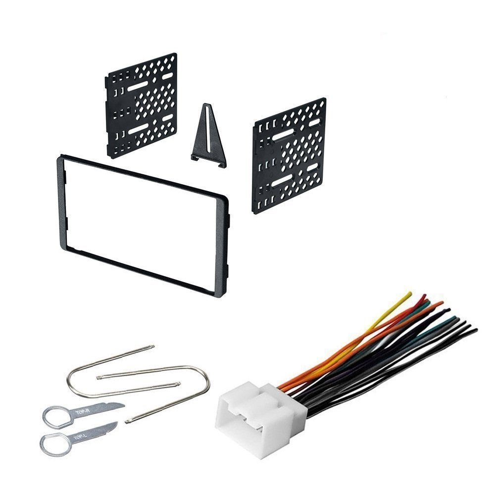Get Quotations · FORD 1998 - 2005 ECONOLINE CAR RADIO STEREO CD PLAYER DASH  INSTALL MOUNTING KIT HARNESS
