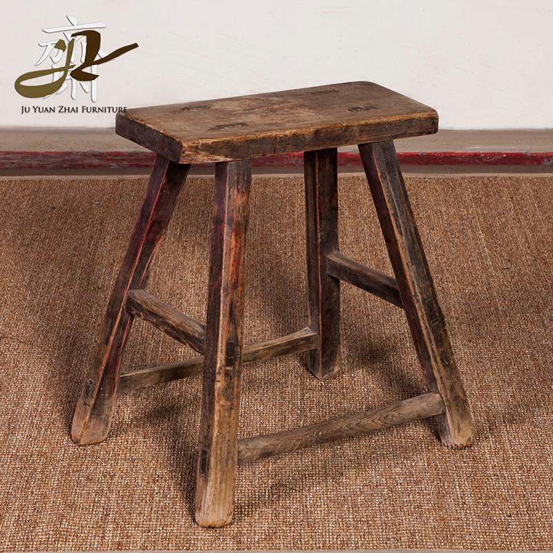 Chino antiguo barato taburete de madera al por mayor de - Muebles antiguos de madera ...