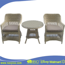 Cheap and Promotion Outdoor PE Rattan Garden Dining Chair and table Furniture Set Patio Europe Style PE wicker Furniture Set