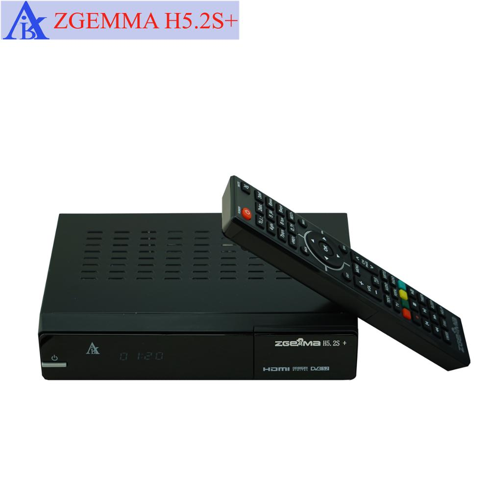 Digital DVB-S2+DVB-S2/S2X/T2/C Triple Tuners ZGEMMA H5.2S Plus H.265/HEVC Satellite Receiver&HDTV Box