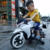 China factory new design 2 big wheels children scoot bike electric motocross kids for sale