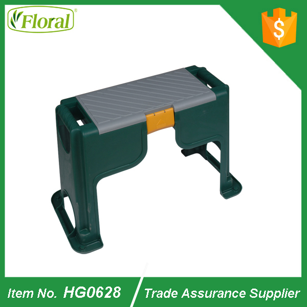 Garden Kneeler Seat Bench With Tool Storage Cushion Knee Pad