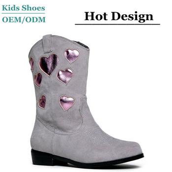2ac17e6531 Niñas estrella metálica vaquero occidental Ryder botas disponible en niño y  niños tamaños de calidad superior