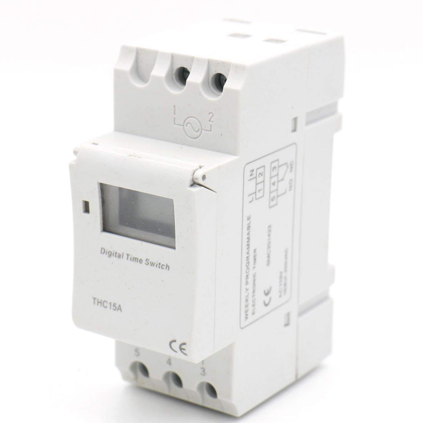 Thc-15 16a 110v  220v Relay Digital Lcd Power Programmable Timer Time Switch
