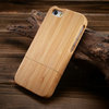 2015 Wholesale wood cover color change back cover for iphone 5, custom back cover case for iphone