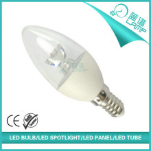 2016 new style led candle bulb, 5w e14 led candle lamp, 5w led candle with light pipe