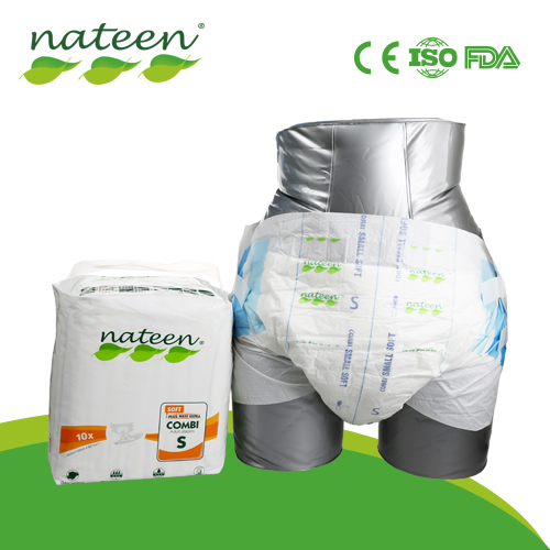 Nateen Brand Large Adult Diaper for Inconvenient Person