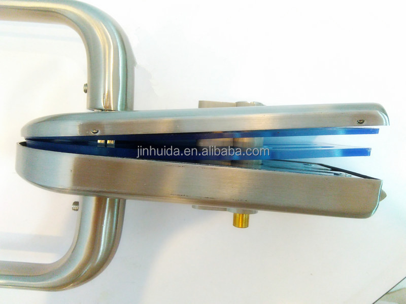 Glass Door Handle With Lock Bull Shape Glass Door Locks Guard Shower  Central Lock Glass Sliding