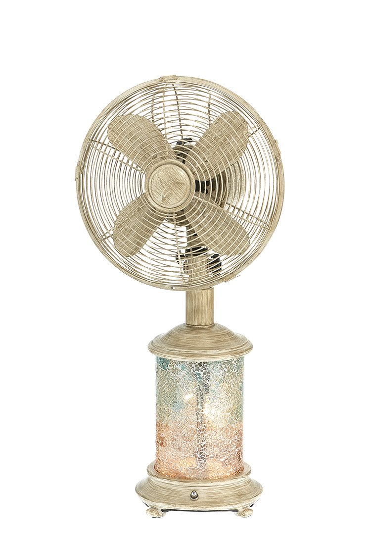 Cheap Diy Table Fan Find Deals On Line At Alibabacom Electric Get Quotations Decobreeze Oscillating And Tiffany Style Lamp 3 Speed Circulator 10